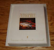 Original 1989 Oldsmobile Cutlass Ciera Supreme Cruiser Calais Sales Brochure 89