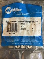 Miller 228927 Diode, Ultra-fast Recovery 400A 600V Dual TO-244