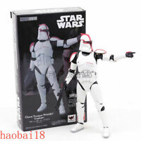 S.H.Figuarts SHF STAR WARS Clone Trooper PHASE I Captain Action Figures with Box