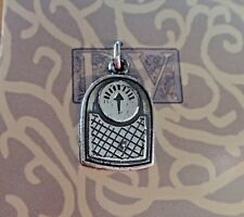 Sterling Silver 19x12mm Weight Bathroom Scale Charm