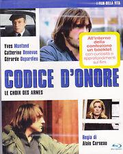 Blu-ray **CODICE D'ONORE ~ Le choix des armes** con G.Depardieu C.Denevue 1981