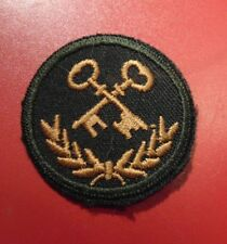 Canadian Armed Forces SUPPLY TECH qualification trade patch badge level 2 green