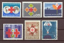 Yugoslavia, Red Cross Issues, MNH, Used, 1964 - 1970