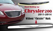 FIT Chrysler 200 2011-14 WING HOOD MOLDING MODIFIED EMBLEM BADGE 05182602AB