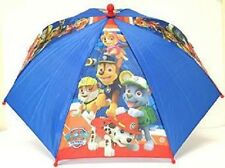 Nickelodeon Paw Patrol Boys' Chase and Marshall Umbrella- Figure Handle