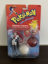 POKEMON TRAINERS #23 JESSE & EKANS POKEBALL ACTION FIGURE HASBRO NINTENDO NIP