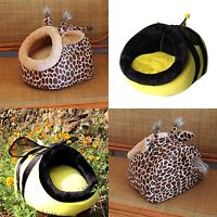 Cute Soft Warm animals Pet House Kennel for S/M/L Dog Puppy Cat kitten