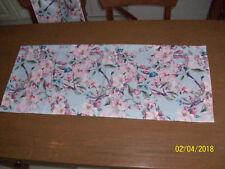 Tischläufer Tischdecke Eckig Dekoration 40cm x 100cm   Deko Kirschblüten Neu