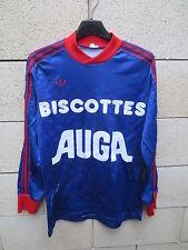 VINTAGE Maillot BERRICHONNNE CHATEAUROUX 1984 Adidas Ventex trikot football S
