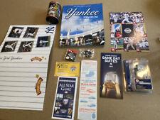 Ny Yankees Collectible Lot Baseball Memorabilia, Jeter, Mariano -Book-Pins-Cards