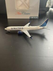 Aeroclassics 1:400 United Boeing 737 Max 9