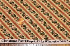 """CHRISTMAS PAST"" 100% COTTON QUILT FABRIC BY THE YARD FOR WILMINGTON PRINTS"