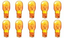 10x 921 Amber Bright Wedge Car Mini Dome Lamp Light bulbs Yellow 12v 921NA Lot