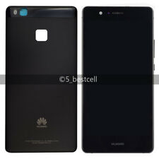 New Black Huawei P9 Lite Touch Digitizer+LCD Display Assembly with Frame+cover