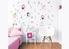 Walltastic 44944 - Wandaufkleber, My Woodland Fairies and Friends Wall Stickers