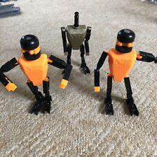 KNEX - 3 MEN / FIGURES / ROBOTS / PEOPLE