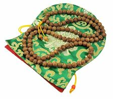 Bodhi Seed Mala 108 Beads for Meditation From Bodh Gaya India BSM-04