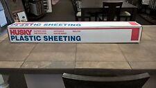 Husky Plastic Sheeting 1.5 mil 12' x 200' Roll