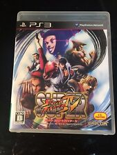 SONY PLAYSTATION 3 NTSC JAPAN Super Street Fighter IV 4