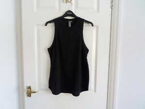 Sweaty Betty Black Pacesetter Running Vest Size Small
