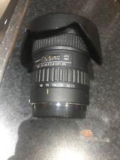 Tokina 11-16mm F2.8 AT-X Pro DX OBIETTIVO GRANDANGOLARE CANON APS-C FIT, USATO
