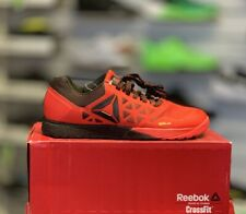 REEBOK CROSSFIT NANO 6.0 Size UK 6.5 US7.5 Riot Red/Black/Pewter (AR3298)