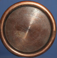 VINTAGE COPPER HAND MADE SERVING TRAY PLATTER