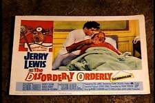 DISORDERLY ORDERLY 1965 LOBBY CARD #1 JERRY LEWIS