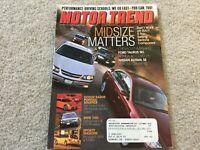 2002 Mazda Protege, Subaru WRX Wagon, 2003 Toyota Matrix, 2002 BMW 745i Magazine