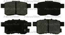 Disc Brake Pad Set-Galaxy Ceramic Disc Pads with Hardware Rear NewTek SCD1451H