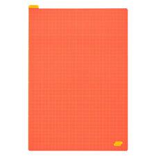 Hobonichi Pencil Board Warm Red x Yellow Sottopagina per Cousin A5