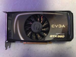 EVGA Nvidia GeForce GTX 560 1GB DDR5 Video Card DVI HDMI PCI Express
