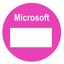 Microsoft / Mobile Phone / Gadget / Tech / iPad Accessory Stickers / Labels
