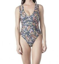 5d7349a398 Kenneth Cole Twinning Floral Double Strap REV Swimsuit Women's S Multi  #10485