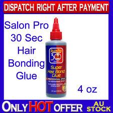 Original Salon Pro 30 sec Hair Extension Bonding Glue 4 oz Perfect Hold