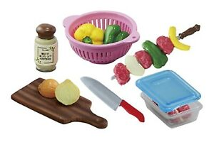 Re-ment Miniatures Let's Go Weekend Camp Camping Fruit Wash Clean Basket - No.5