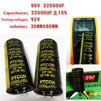 22000uF 22000mfd 80V 35*80 Electrolytic Capacitor & USA FREE SHIPPING
