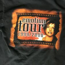 Martina Mcbride Emotion Tour 1999-2000 Blavk M Concert Shirt
