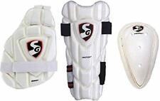 SG Cricket Kit Combo Of  Inner Thigh Guard,Abdominal Guard,Elbow Guard
