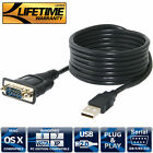 Sabrent USB 2.0 TO SERIAL (9-PIN) DB-9 RS-232 CABLE 1.8m CABLE with FTDI CHIPSET
