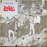 LOVE MASTERS 1ST PRESS 1973 UK ELEKTRA VINYL LP K 32002
