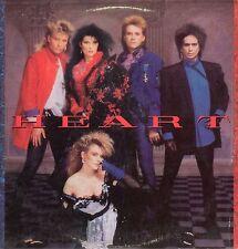 Heart Vinyl LP Capitol Records,1985, SJ-12410, Self-titled ~ EX