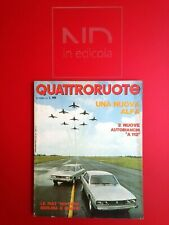 QUATTRORUOTE 189 SETTEMBRE 1971 - OPEL ASCONA 16 S LUSSO  HONDA N 360