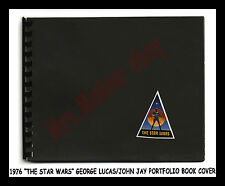 1976 George Lucas PERSONALLY OWNED and LEGIBLY HAND-SIGNED STAR WARS GLORY BOOK!