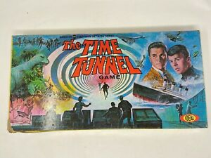 Original 1966 Ideal The Time Tunnel Board Game No. 2326-7