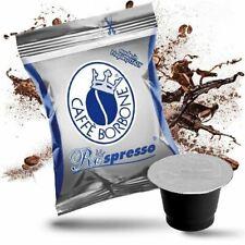 300 CAPSULE COMPATIBILI NESPRESSO CAFFE BORBONE RESPRESSO MISCELA BLU box da 50