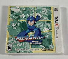 Mega Man Legacy Collection (Nintendo 3DS, 2016) w/ Collectible sticker