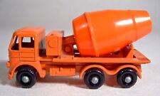 Matchbox RW 26B Foden Cement Mixer kleine schwarze 9 mm Räder top