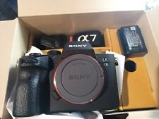 Sony Alpha A7 III Mirrorless Digital Camera Body Only very low shutter count