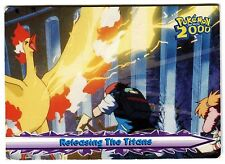 POKEMON English TOPPS 2000 CARD little Used #39 RELEASING THE TITANS